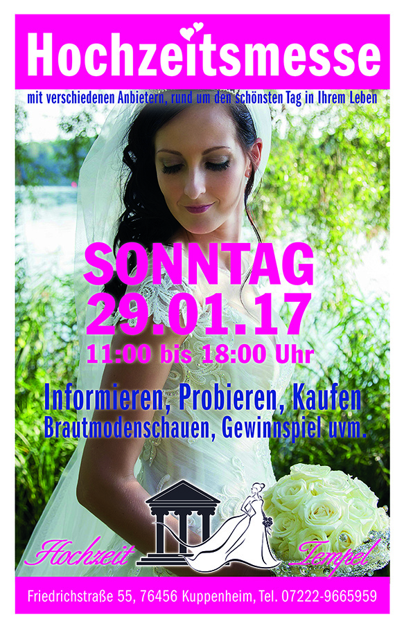 Hochzeits Messe 2017